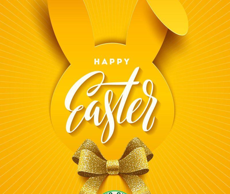 Buona Pasqua da tutti noi!
